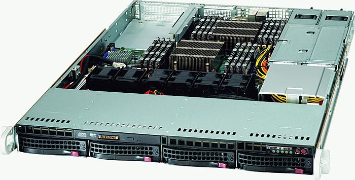 1U Supermicro X9 servers (6C Xeon E5, 24GB, SAS 6G RAID)-supermicrosc815-jpg