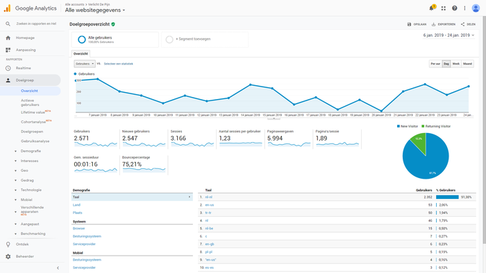 Prachtige webwinkel, 2361,41 euro omzet, 90 orders in 21 dagen. Grijp je kans!-analytics-png