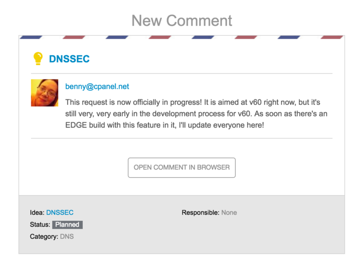 cPanel -> DNSSEC -> \o/-new-comment-dnssec-domenico-klikop-nl-mail-png