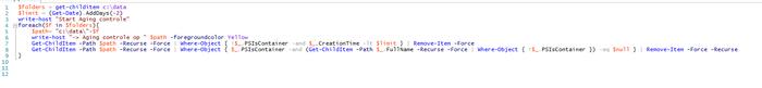 Taskscheduler - Powershell script draait niet naar behoren-powershell-png