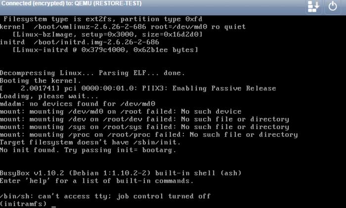 Restore SW Raid server op non SW Raid server-restore-1-png